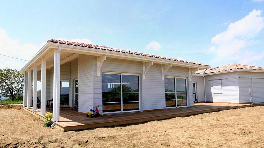Principe maison ossature bois le mur ossature bois est - Principe maison ossature bois ...